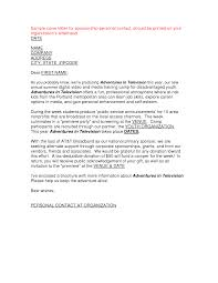 event sponsorship letter template sample letters asking for