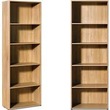 etagere classeur pour bureau etagère bibliothèque effet bois 5 étages meuble rangement chambre
