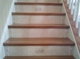 awesome stair design with red ideas prefinished stair treads