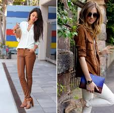 how to wear brown clothing the best color pairs of brown