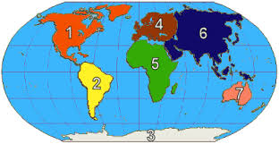 map continents baamboozle continents oceans