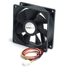 5000 cfm radiator fan startech com 60mm 5000 rpm 26 6 cfm black case fan fan6x25tx3h