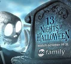 abc family 13 nights of tv schedule includes free