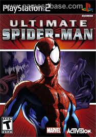 ultimate spiderman sony playstation 2 game