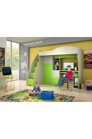 Lit Mezzanine Prado Chambre Lit Superpose Avec Bureau Integre Lits Superposes Samuel