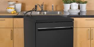 kitchen sink cabinet with dishwasher convenient portable dishwashers ge appliances