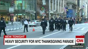 thanksgiving parade online live nyc security stepped up for thanksgiving day parade cnn