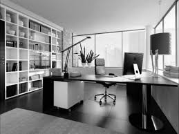 Black Office Chair Design Ideas Great White And Black Themes Modern Small Home Office With Built