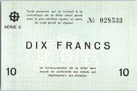 chambre commerce mulhouse banknote 10 francs mulhouse chambre de commerce srie c