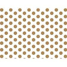gold polka dot tissue paper gold and white polka dots tissue paper 20 inch x 30