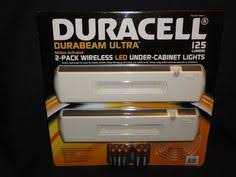 duracell led under cabinet light project source 6 pack 2 42 in battery under cabinet led puck light
