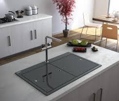 Gorgeous Glass In The Kitchen Kitchen Sourcebook - Glass sink kitchen