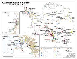 Map Of Antarctica Analysis Of Antarctic Peninsula Temperature Trends Shows It Runs