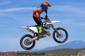 husqvarna motocross bikes 2017 husqvarna tc 125 first ride review 10 fast facts