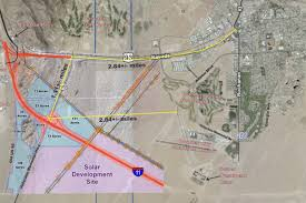 Lake Mead Map City Hall Posts Official Information On The I 11 Us 95 Interchange