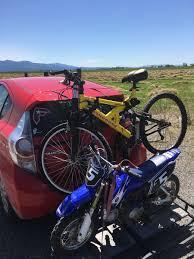 motocross bike rack bike rack on back of a car moto related motocross forums