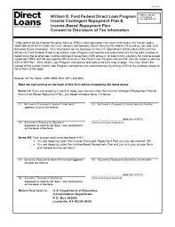 william d ford federal direct loan program master promissory note william d ford federal direct loan program