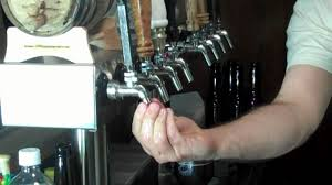 Perlick Beer Faucet 650ss With Flow Control by Filling Bottles From The Perlick Taps On My Kegerator Youtube
