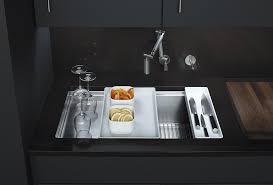 Kohler Kitchen Sinks Stainless Steel by Kohler K 3760 Na Stages 33 Inch Stainless Steel Kitchen Sink