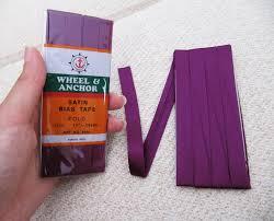satin bias satin bias purple plum