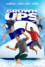 grown ups 2 pg 13 is the comedy continuess of grown ups this