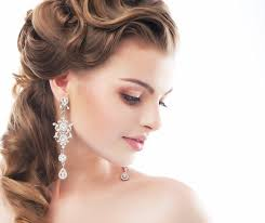 bridal hairstyle for reception party hairstyles sakhi saheli