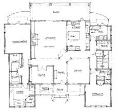 marvelous house plans rear living 8 rustic style meets modern