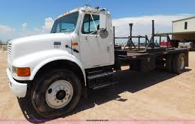 electric truck for sale 2001 international 4900 flatbed truck item l5916 sold a