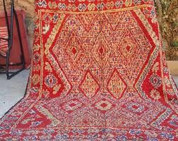 Vintage Moroccan Rug Moroccan Rug Etsy