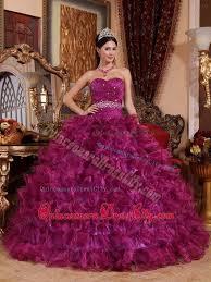dresses for sweet 15 ruching purple sweetheart ruffles organza beading sweet 15 dresses