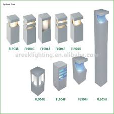 lighting modern outdoor lamp post lights contemporary exterior