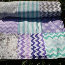 Purple And Aqua Crib Bedding Shop Aqua Crib Bedding On Wanelo