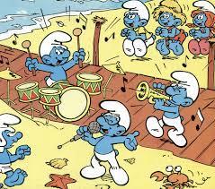 peyo auto the smurfs u0027 smurfy guide to the tv cartoon