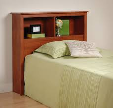 Twin Bed With Storage And Bookcase Headboard by Napa Deluxe Storage Platform Bed With Headboard Ltdonlinestores Com