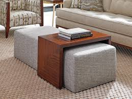 coffee table leather ottoman coffee table with storage tables