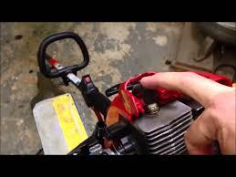 troy bilt tb22ec trimmer won u0027t start electric starter cover o