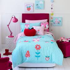 queen beds for teenage girls adairs kids girls alice owl bedroom quilt covers u0026 coverlets