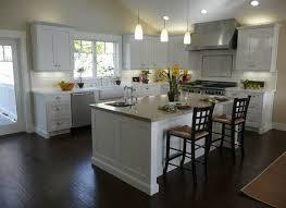 black cabinets with white kitchen island ellajanegoeppinger com