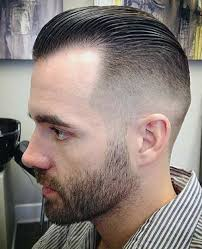 receding hair slicked back slick back faded hair styles pinterest hair style and haircuts
