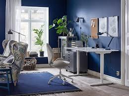 Ikea Desk Office Home Office Furniture Ideas Ikea