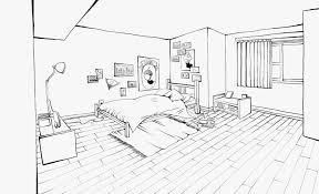 kids bedroom drawing interior design