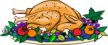 top thanksgiving cooked turkey clip design free vector