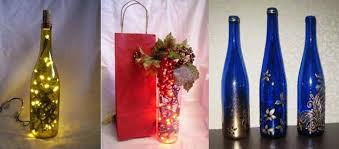 Unusual Wine Bottles Unique Gift Ideas Recycling Glass Bottles 25 Creative Recycled Crafts