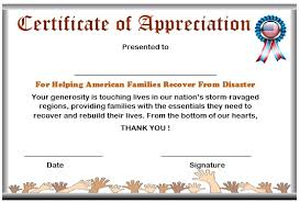 10 elegant certificate of appreciation for donation templates