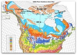 Garden Growing Zones - zone one usda plant hardiness world view of the harshest climate