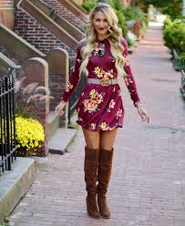 dresses with boots fall dresses to pair with otk boots sweet tea with madisweet tea