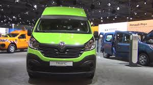 renault green renault trafic comfort l2h2 2 9t energy dci 125 2017 exterior