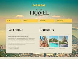 traveling websites images Website template 43703 travel agency compass custom website jpg