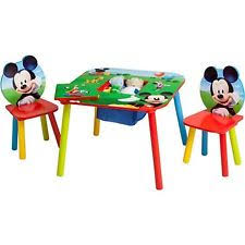 Mickey Mouse Activity Table Mickey Mouse Chair Ebay