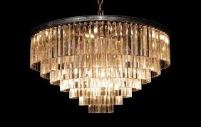 Odeon Crystal Chandelier Distinctive Lighting For Unique Interiors Timothy Oulton